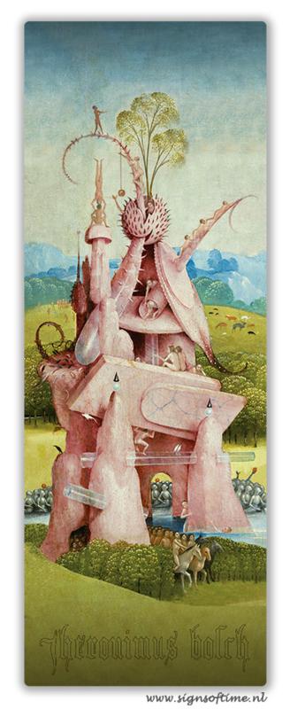 Jheronimus Bosch Roze gebouw