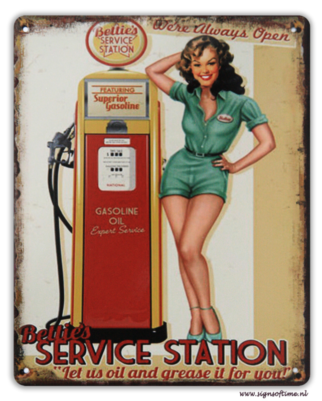 Betties Service Station