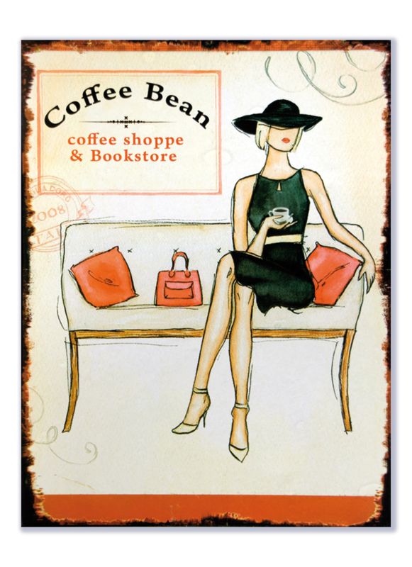 Coffee Bean coffee shoppe and Bookstore