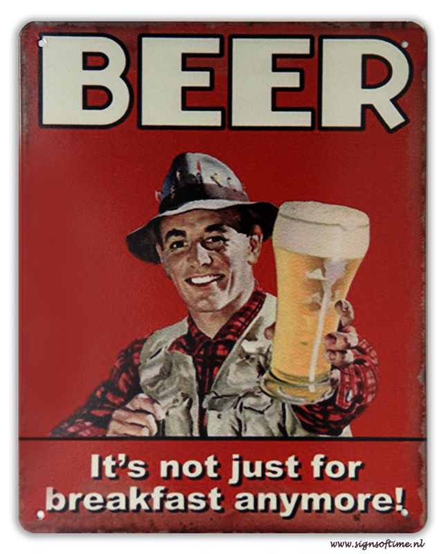 Beer - It's not just for breakfast anymore