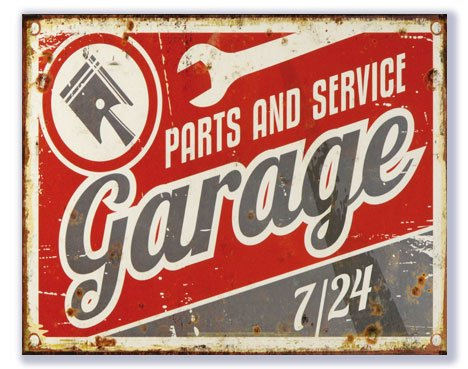 Parts and service Garage