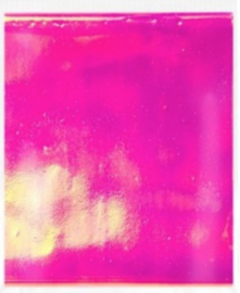 Shattered Glass Neon Roze