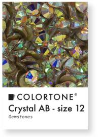 Colortone Crystal Aurora Borealis Rhinestones Size 12