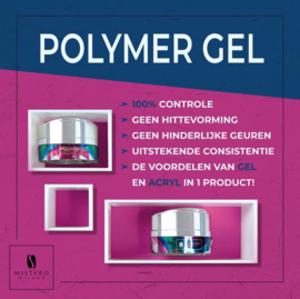 Mistero Milano Architetto Polymer Gel Clear 15ml