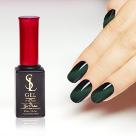 Slowianka Cat Eye Gel Polish 012 Dark Green