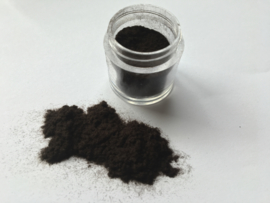Nail Art Fluffy Powder Dark Brown
