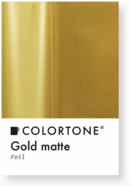 Colortone Gold Matte Foil