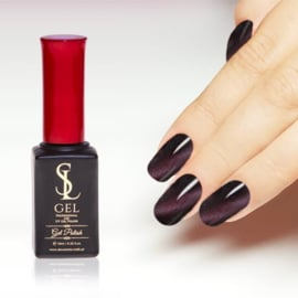 Slowianka Cat Eye Gel Polish 002 Aubergine Purple