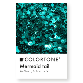 Colortone Medium Glitter Mix Mermaid Tail