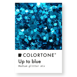 Colortone Medium Glitter Mix Up To Blue