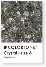 Colortone Crystal Rhinestones Size 6