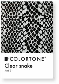 Colortone Clear Snake Foil