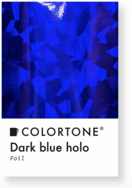 Colortone Dark Blue Holo Foil