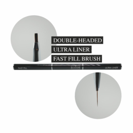 The Blooom Double Headed ULTRA LINER & FAST FILL Brush