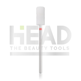 Head Ceramic Frees Bit Cylinder Safe Edge Red 6.5mm