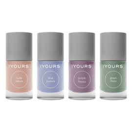 YOURS Stamping Polish Pastel Set 4 Stuks