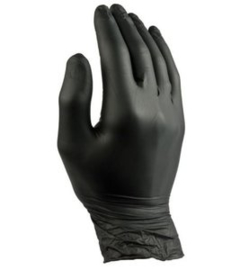 Nitril Black Gloves Maat L 100st