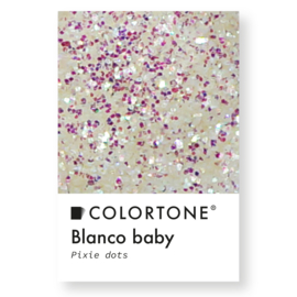 Colortone Pixie Dots Blanco Baby