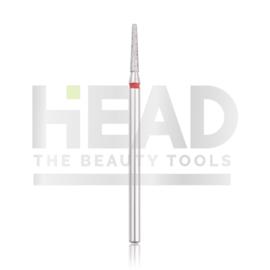 Head Diamond Frees Bit Frustum Red 1.8mm Long (Manicure Pedicure)