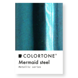 Colortone Mermaid Steel Metallic Groenblauw Pigment