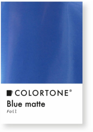 Colortone Blue Matte Foil