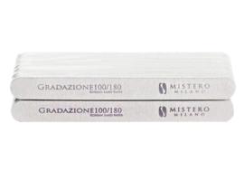 Mistero Milano Rechte Wooden File 100/180 25 Stuks