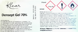 Klear Handdesinfectie Densept Gel Spray 70%
