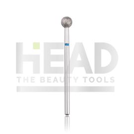 Head Diamond Frees Bit Ball Blue 5.0mm (Manicure Pedicure)