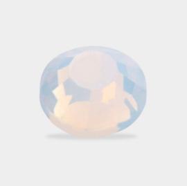 Mistero Milano Diamond Glass SS6 Opal White 40 Stuks