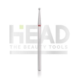Head Diamond Frees Bit Ball Red 1.6mm (Manicure Pedicure)