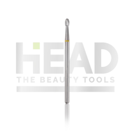 Head Tungsten Rounded Drop Yellow 2.3mm (Manicure Pedicure)