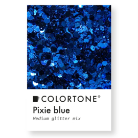 Colortone Medium Glitter Mix Pixie Blue