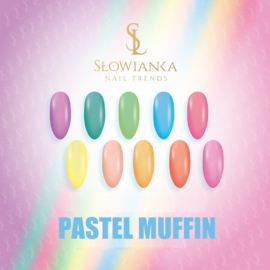 Slowianka Pastel Muffin Gel Polish Collection