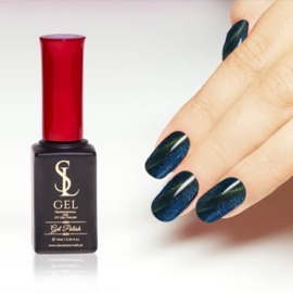 Slowianka Cat Eye Gel Polish 016 Blue Gold
