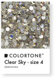 Colortone Clear Sky Rhinestones Size 4