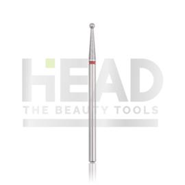 Head Diamond Frees Bit Ball Red 1.8mm (Manicure Pedicure)