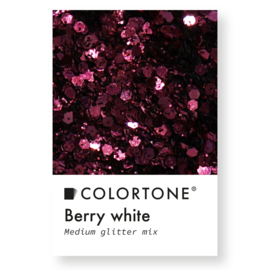 Colortone Medium Glitter Mix Berry White