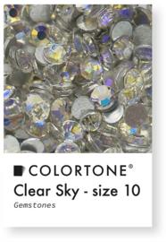 Colortone Clear Sky Rhinestones Size 10