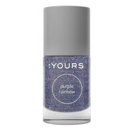 YOURS Stamping Polish Purple Rainbow