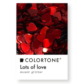 Colortone Lots Of Love Red Hearts