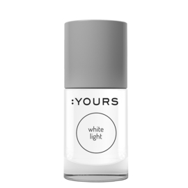 YOURS Stamping Polish White Light