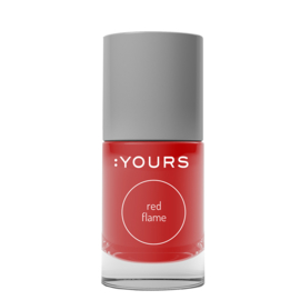 YOURS Stamping Polish Red Flame