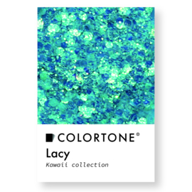 Colortone Kawaii Glitter Lacy