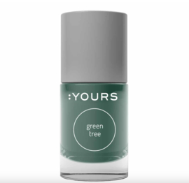 YOURS Stamping Polish Green Tree