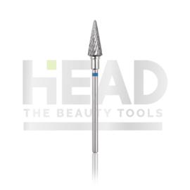 Head Tungsten Bit Pointy Cone Blue 6.0mm