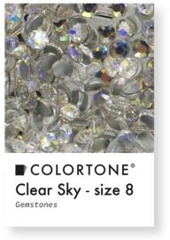 Colortone Clear Sky Rhinestones Size 8