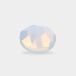 Mistero Milano Diamond Glass SS4 Opal White 40 Stuks