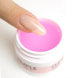 Mistero Milano Simple Shape Builder Gel Clear Pink 15 gr