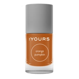 YOURS Stamping Polish Orange Pumpkin