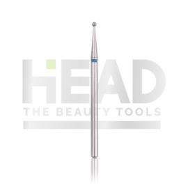 Head Diamond Frees Bit Ball Blue 1.4mm (Manicure Pedicure)
